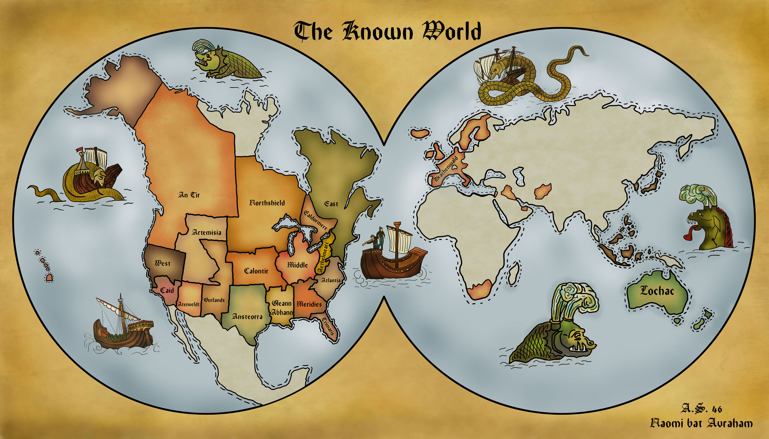 A Map of the Knowne World